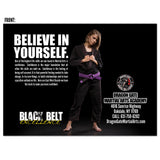 Black Belt Excellence Confidence EDDM