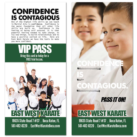 Confidence Rack Card