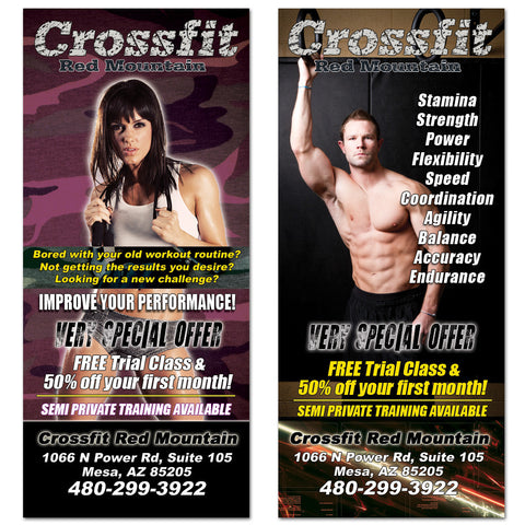 Crossfit Rack Card 01