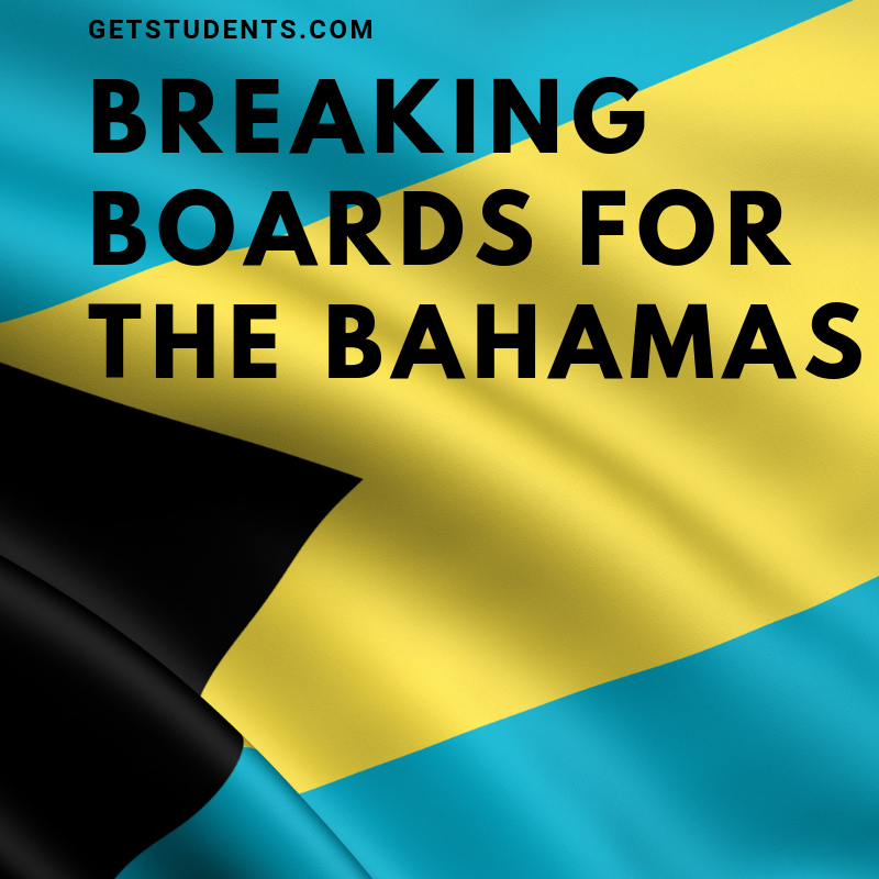 Donation: Breaking Boards for the Bahamas - Get Students