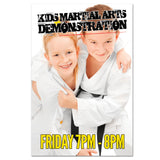 Martial Arts Demo Cling 03 - Get Students
