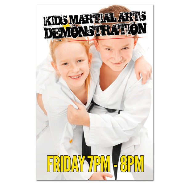 Martial Arts Demo Banner 03 - Get Students