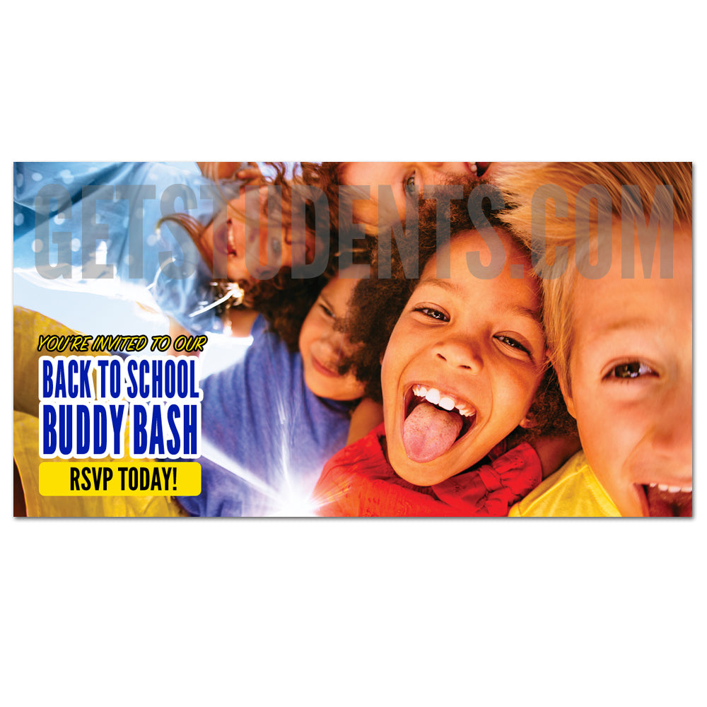 Buddy Bash Facebook Ad - Get Students
