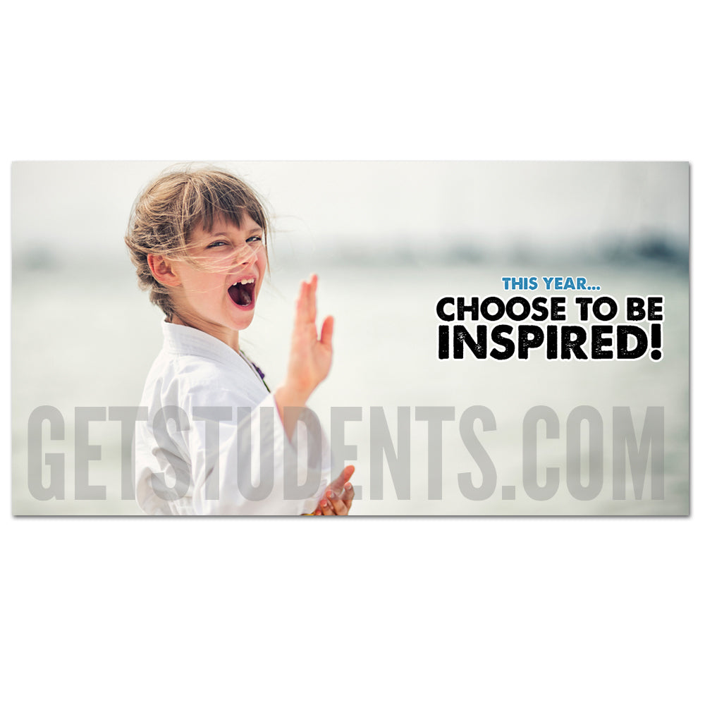 Inspired Facebook Ad - Get Students