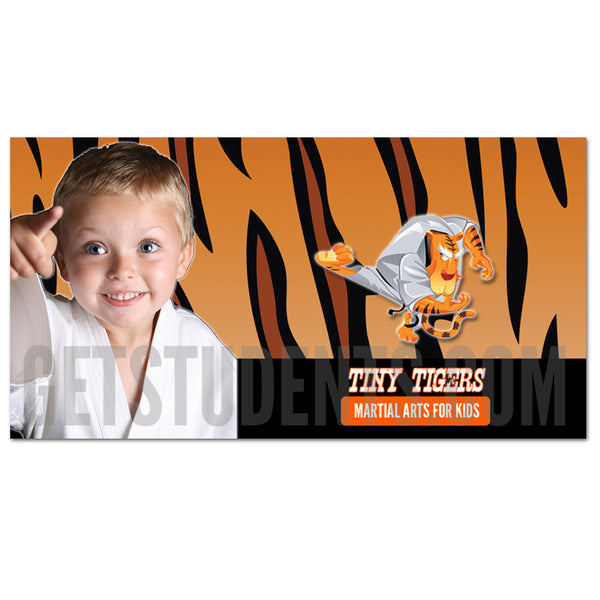 Tiny Tigers Facebook Ad - Get Students