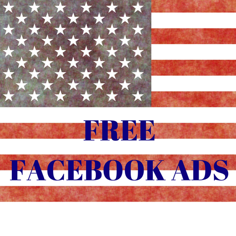 FREE Red White & Blue Facebook Ads