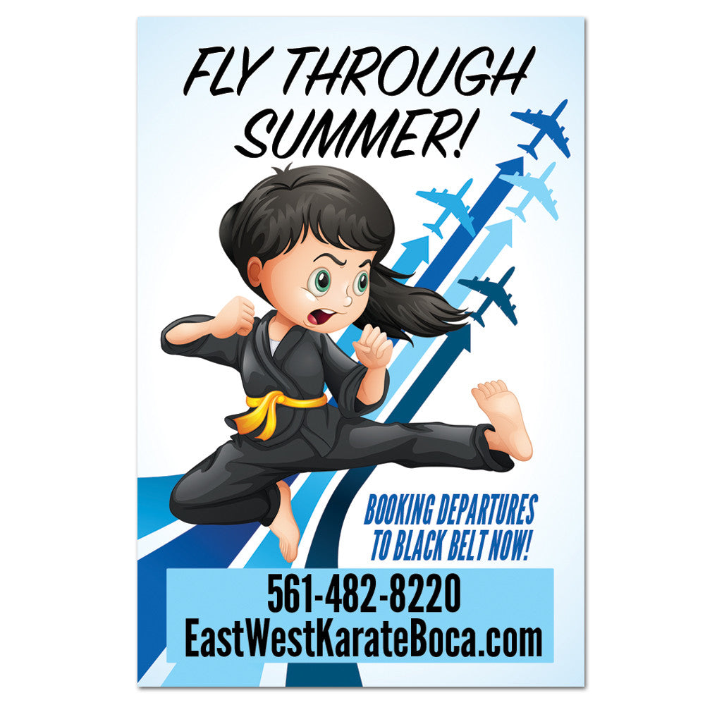 Fly Through Summer Cling - Get Students