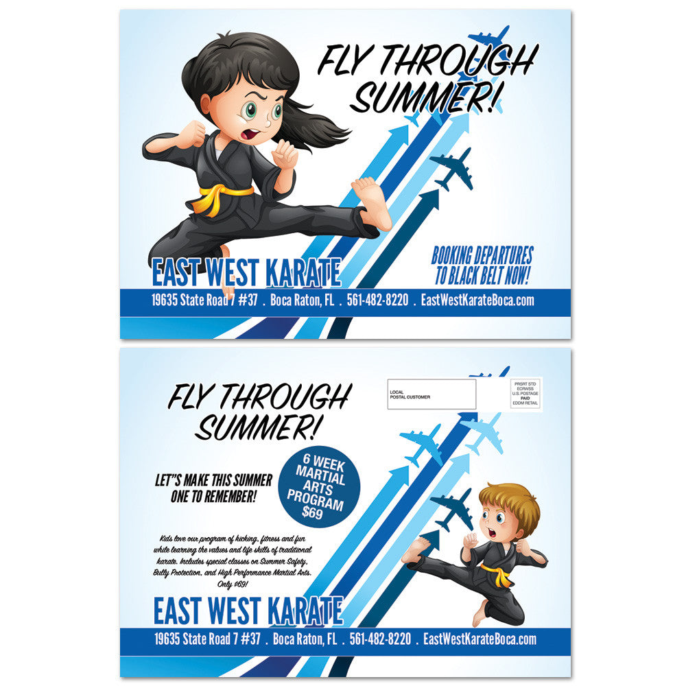 Fly Through Summer EDDM - Get Students