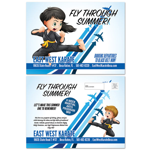 Fly Through Summer EDDM