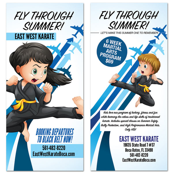 Fly Through Summer Rack Card 01 - Get Students