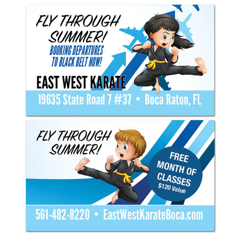 Fly Through Summer VIP Card