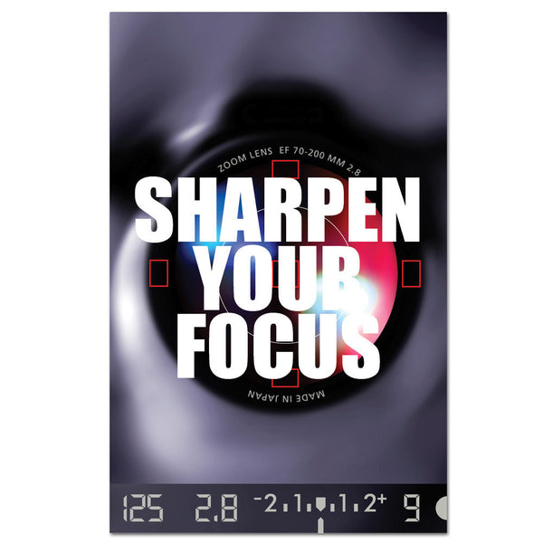 Sharpen Your Focus Cling