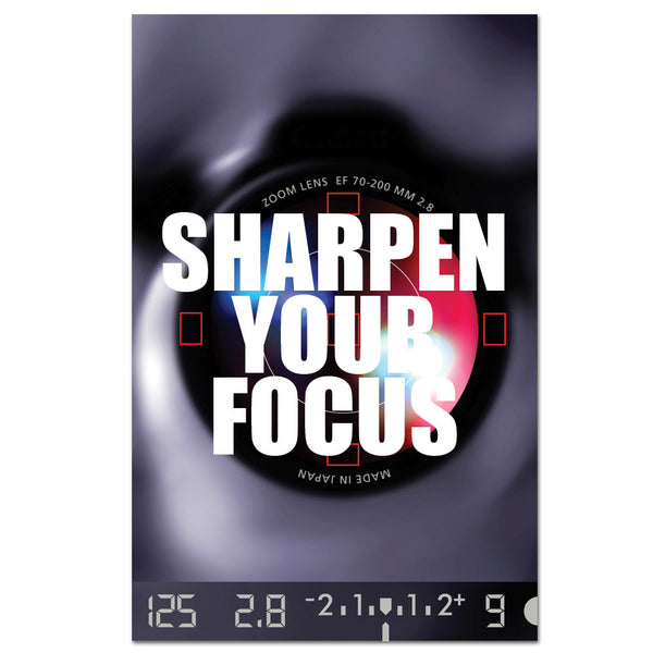 Sharpen Your Focus Banner