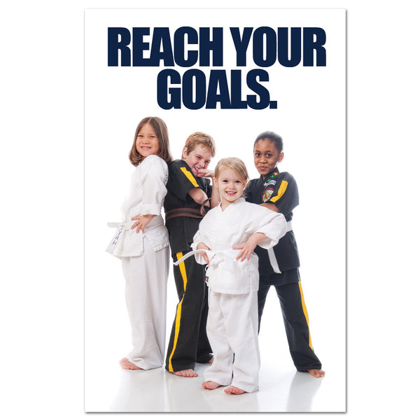 Reach Your Goals Banner - Get Students