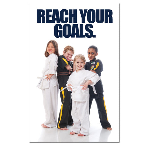 Reach Your Goals Banner