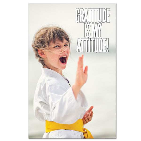 Gratitude Is My Attitude Banner - Get Students