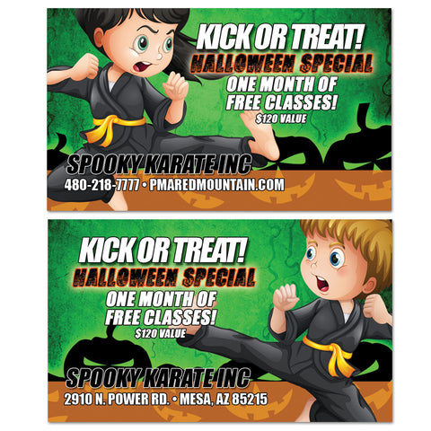 Halloween VIP Card 02 - Get Students