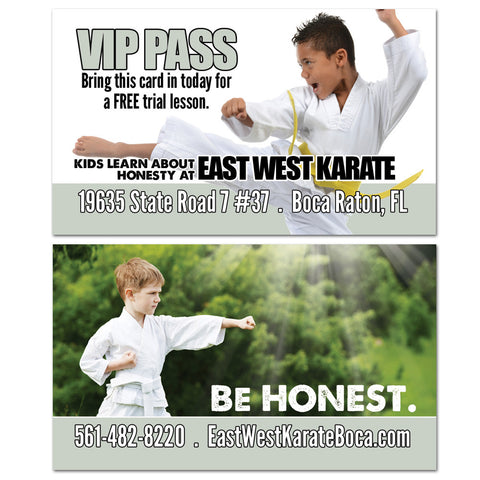 Honesty VIP Card