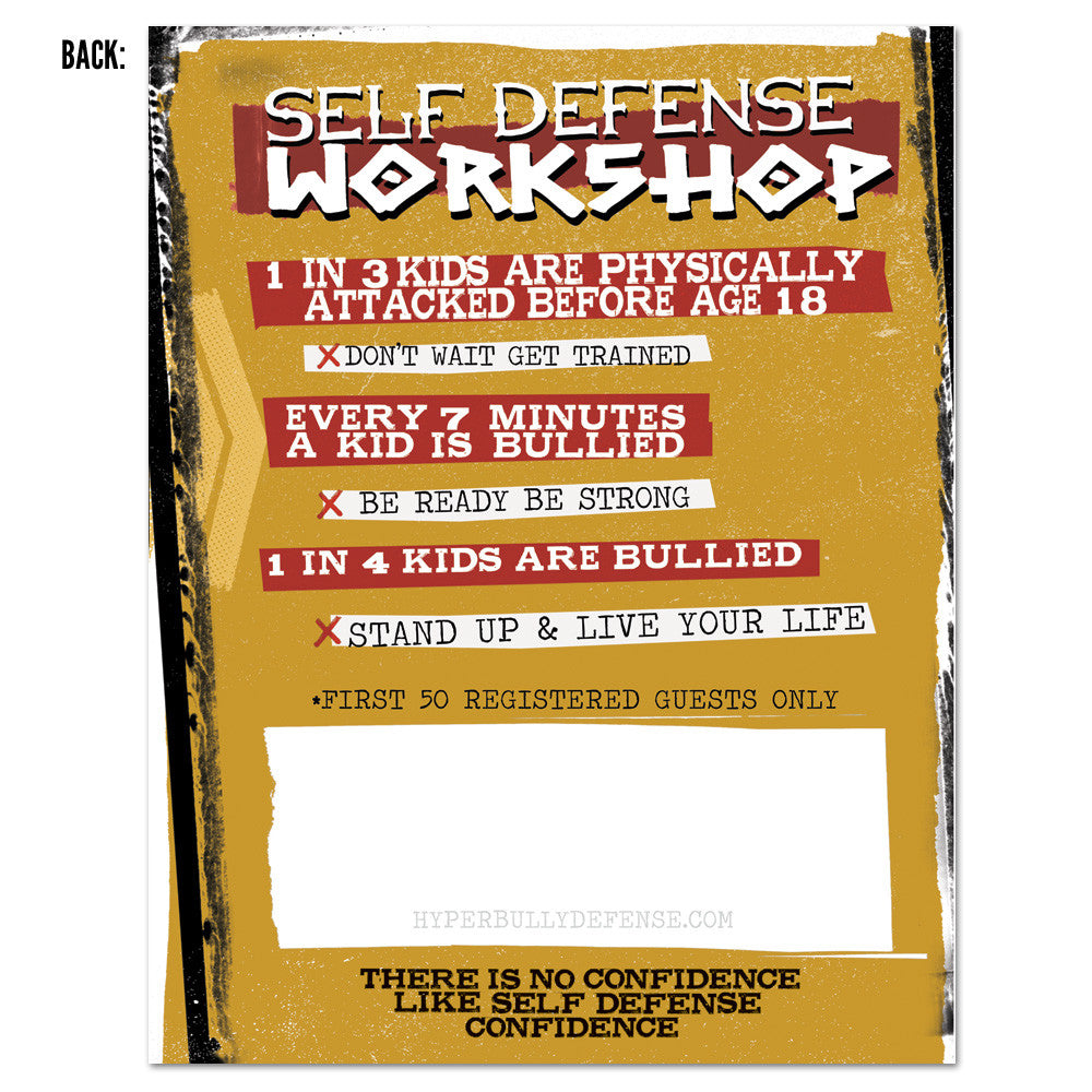 Hyper Bully Defense Workshop Pass