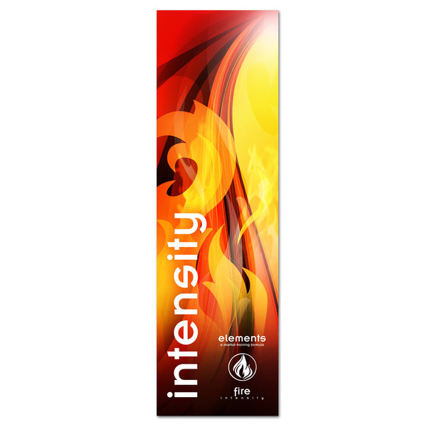 Intensity/Fire - Elements Banner - Get Students