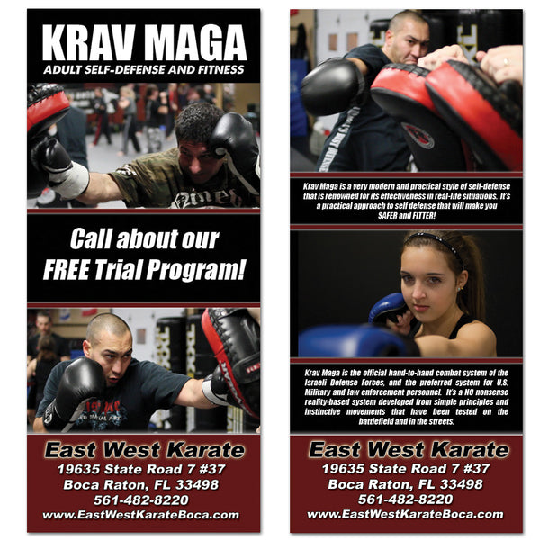 Krav Maga Rack Card 01 - Get Students