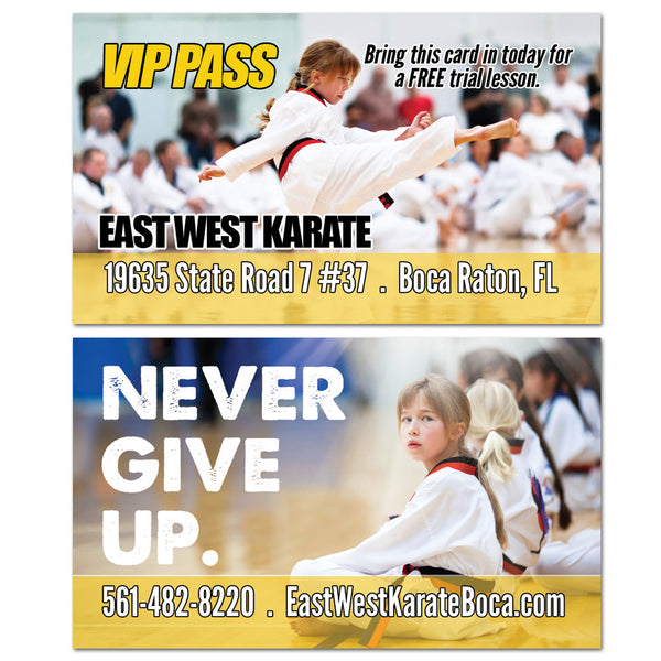 Never Give Up VIP Card - Get Students