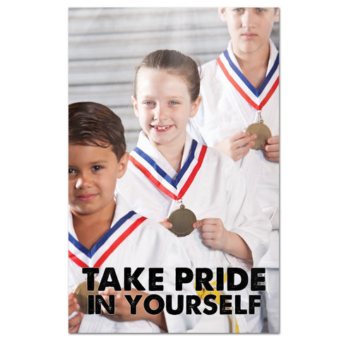 Take Pride In Yourself Cling
