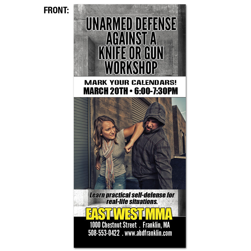 Unarmed Weapon Defense Workshop