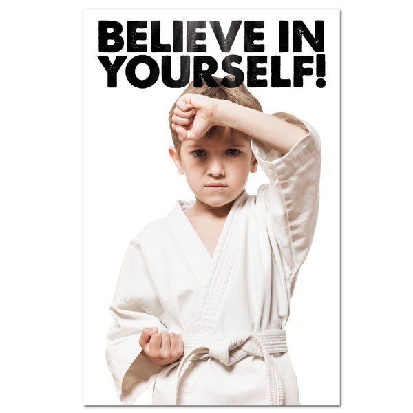 Believe In Yourself Banner - Get Students