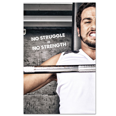 No Struggle No Strength Banner