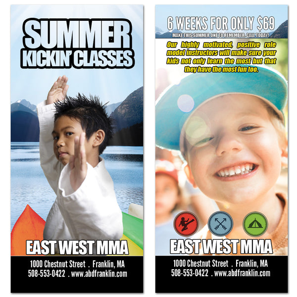 Summer Classes Rack Card