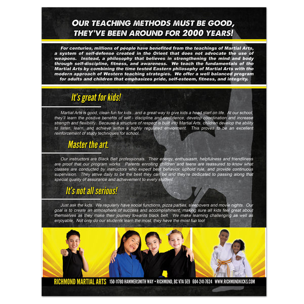 Our Teaching Methods Flyer - Get Students
