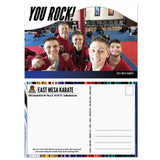 You Rock Custom Image Postcard