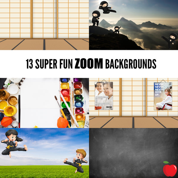 Zoom Background Pack - Get Students
