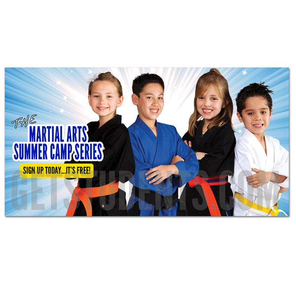 Summer Camp Facebook Ad 2 - Get Students