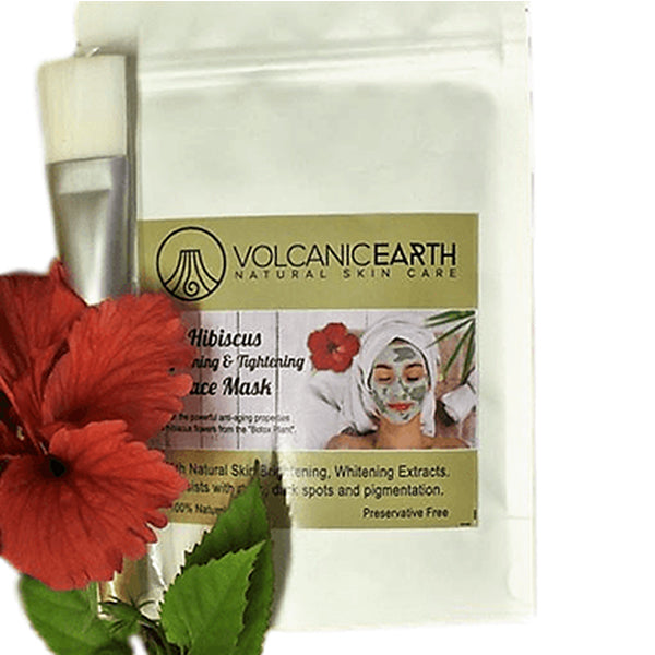 Hibiscus Face Mask (With Brush)