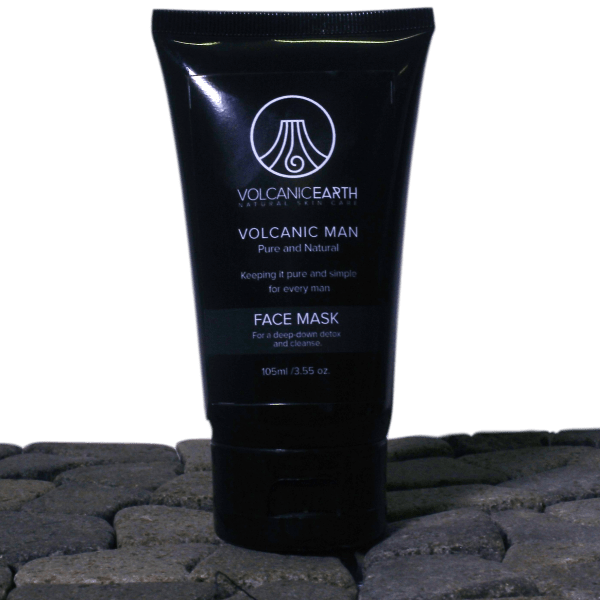 Volcanic Man Face Scrub - MORE 4 LESS