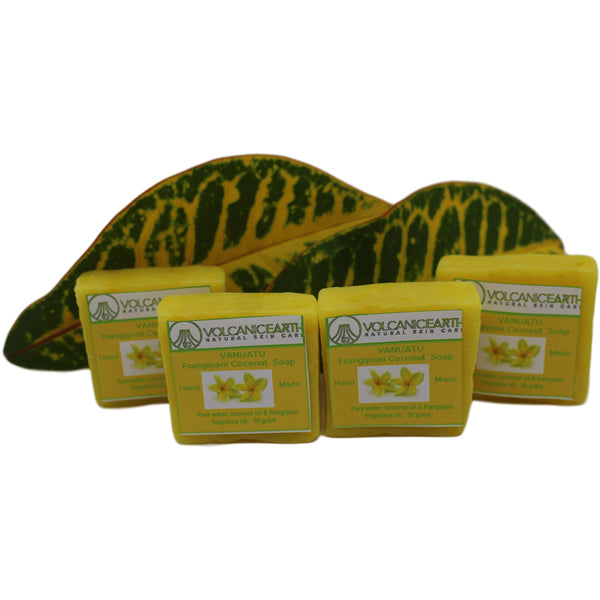 Frangipani - Pack of 4 (small) Soaps