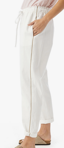 white wash Rex twill pants