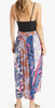 pinks teagan printed skirt