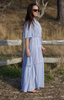 Alta dress adriatic mini stripe