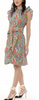 Audrey mini dress cottage garden poppy