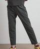 Bessy vintage fleece jogger pant cannon grey