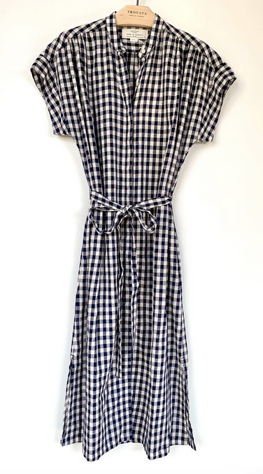 Astrid gingham check shirtdress