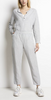 Semmy linen pants ash grey