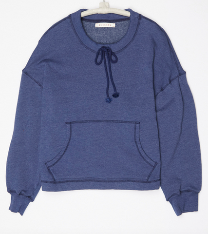dive blue drew sweatshirt