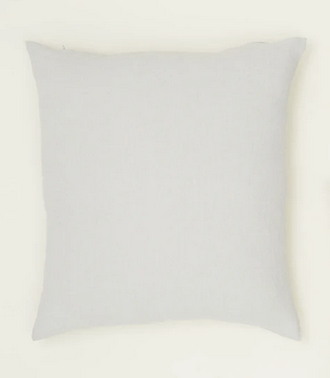 simple linen pillow light grey 22