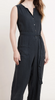 Dani linen jumpsuit in shadow