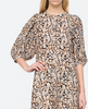 Borealis puff sleeve dress espresso