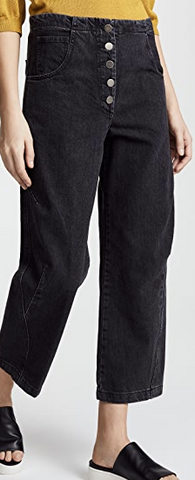 elkin pants washed black